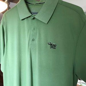Men's golf shirt. Torrey Pines logo. DryTec
